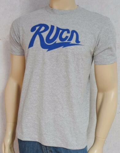 RVCA Charged Artist Network Program Heather Gray T-Shirt New NWT Mens Small