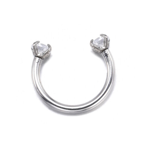 Lovely Piercing Septo Nose Lip Ear Septum Cartilage Captive Hoop Ring Jewelry F6