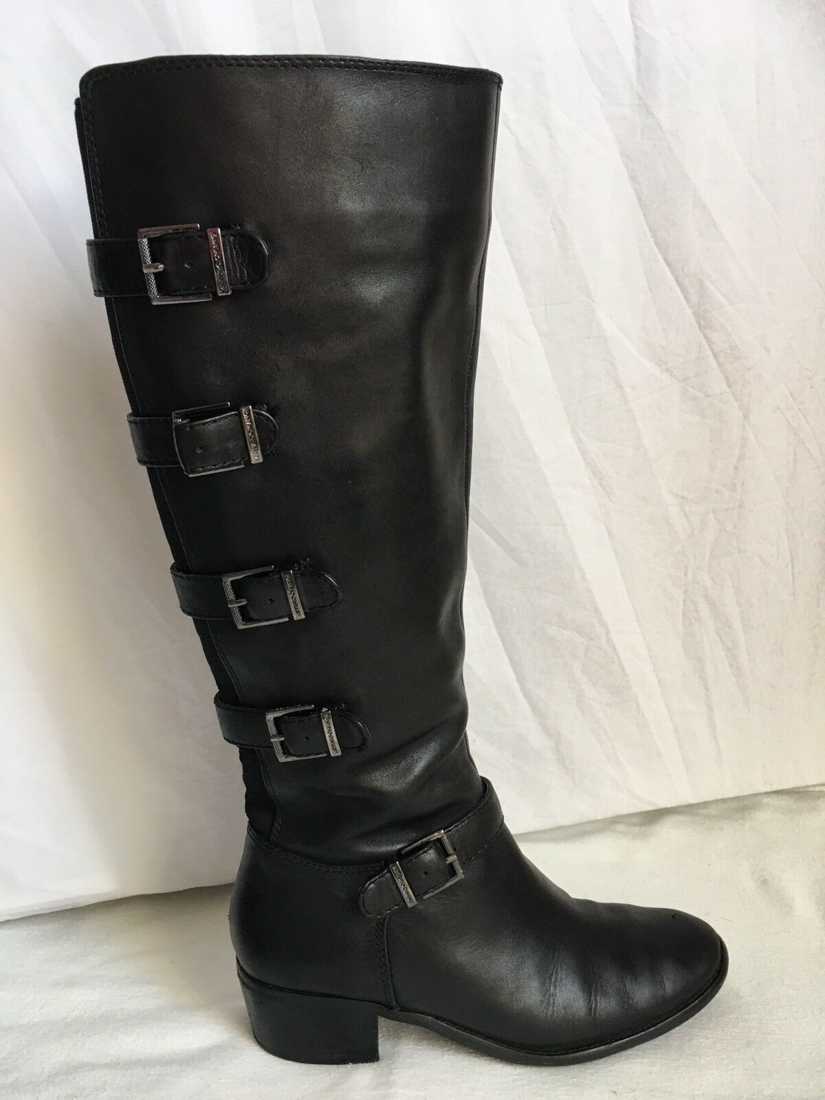 Men's/Women's arturo chiang Black boots 7.5 for you to choose the most economical Excellent stretching