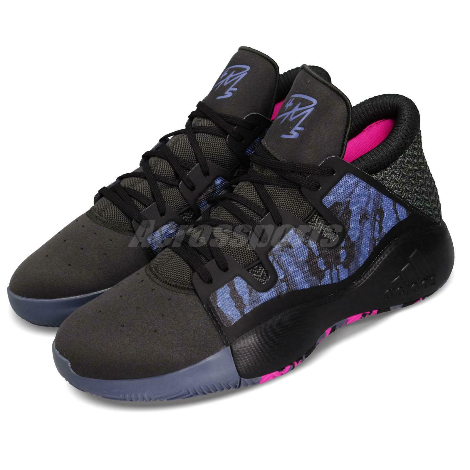 Adidas Pro Vision Select PE Donovan Mitchell gris negro azul Men zapatos EE6868