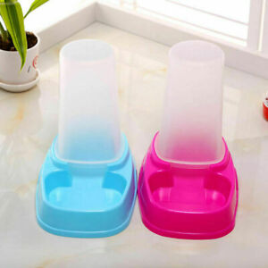 Pet Portion Control Dog Cat Automatic Feeder Dispenser Foo L6C0 Meal Water Y6S9