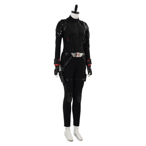 Details about  /Avengers 4 Endgame Black Widow Natasha Romanoff Cosplay Costume Jumpsuit Outfit