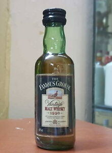 Famous-Grouse-1990-whisky-miniature-mignon-hard-to-find