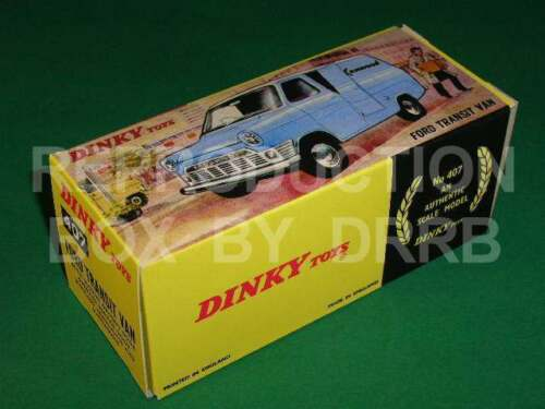 Caja de reproducción por drrb kenwood Dinky #407 Ford Transit Van
