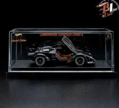 Hot Wheels RLC 82 Lamborghini Countach LP500 S in Black SEALED
