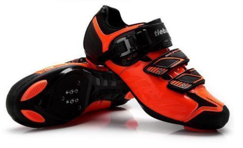 Tiebao Cycling Road Bike Look SPD-SL System shoes TB36-B1407 orange New