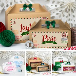image is loading personalised christmas eve gift box xmas favour present