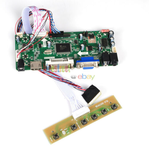 HDMI+DVI+VGA LCD Controller Board Driver for 1280X800 N070ICG-LD1 40Pin