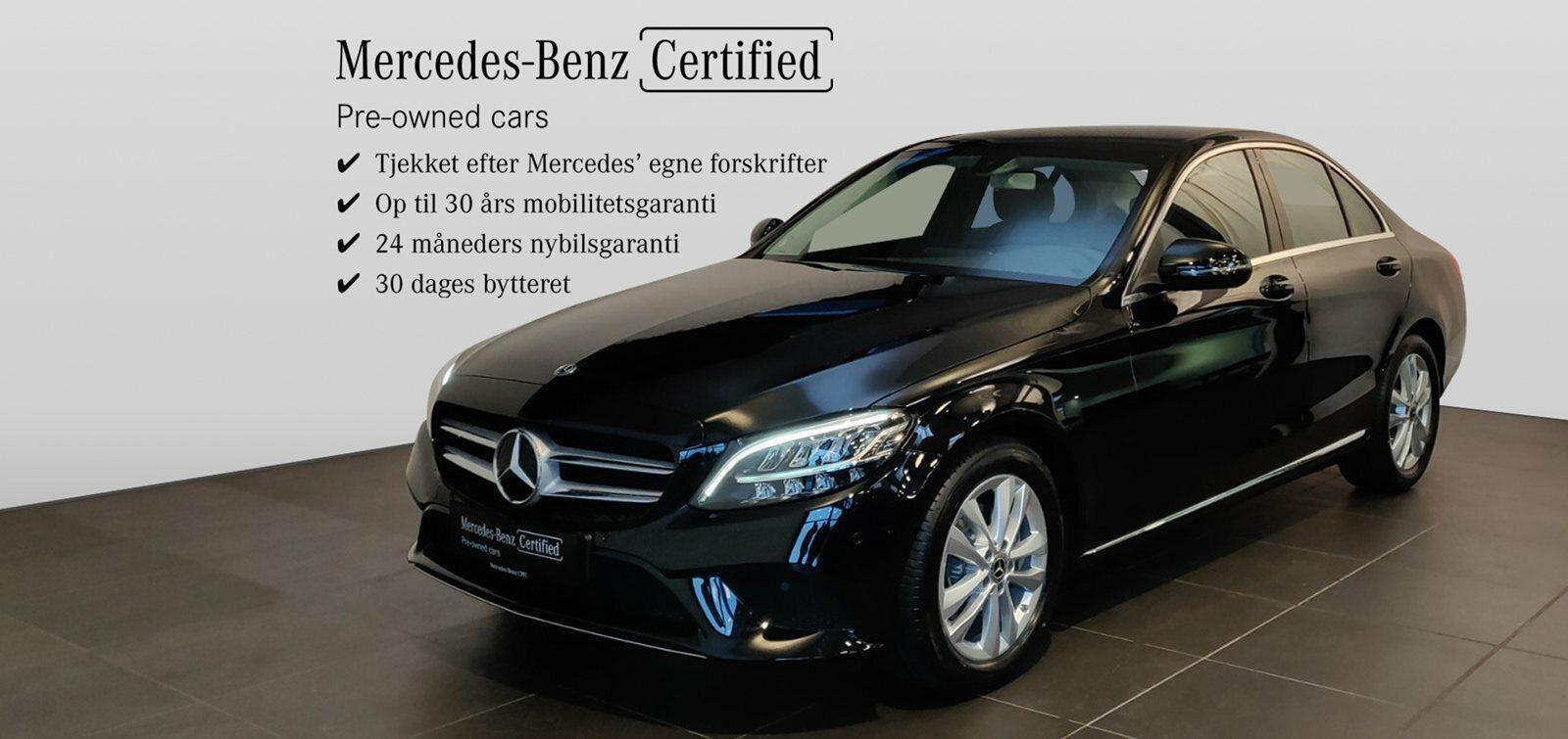 Mercedes C200 1,5 Advantage aut. 4d - 429.900 kr.