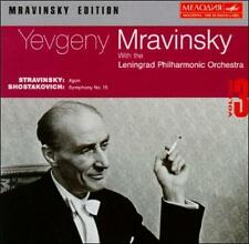Lot 3 CDs: Mravinsky Edition Vol. 3, 5 & 10 Yevgeny Mravinsky Wagner Tchaikovsky