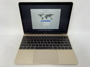 MacBook 12 Rose Gold Early 2016 1.2GHz Intel Core m5 8GB 512GB SSD - READ