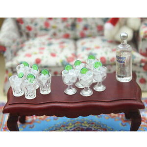 2Pcs-dollhouse-toy-model-miniature-food-mini-glass-cup-ice-cube-T-cw-JG