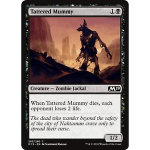 Magic the Gathering MTG M19-4x Tattered Mummy x4 Lot