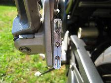 2x LED TURN SIGNALS BLINKER  CHROME MINI Super Moto Sport Cruiser Motorcycle