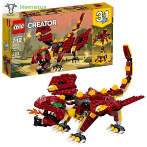 LEGO-Creator-3in1-Mythical-Creatures-31073-Building-Kit-223-Piece