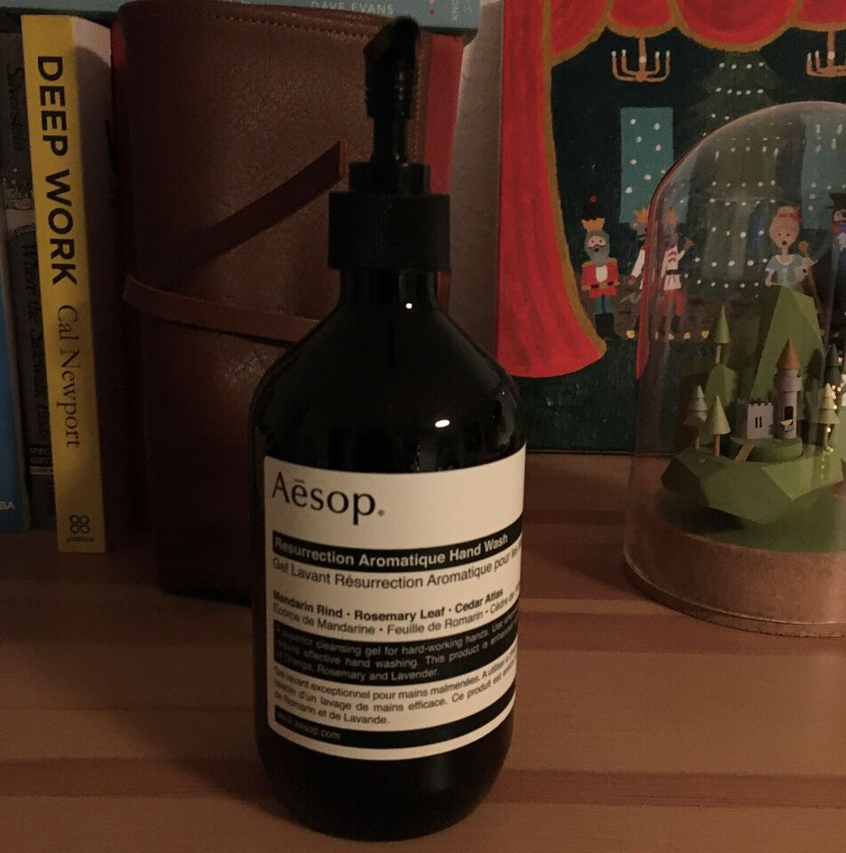 Hudpleje, Aesop (bottle only no product inside) 500ml,
