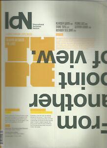 IDN Interactive Design Network Vol.20 No.2 2013, TYPOGRAPHY SPECIAL