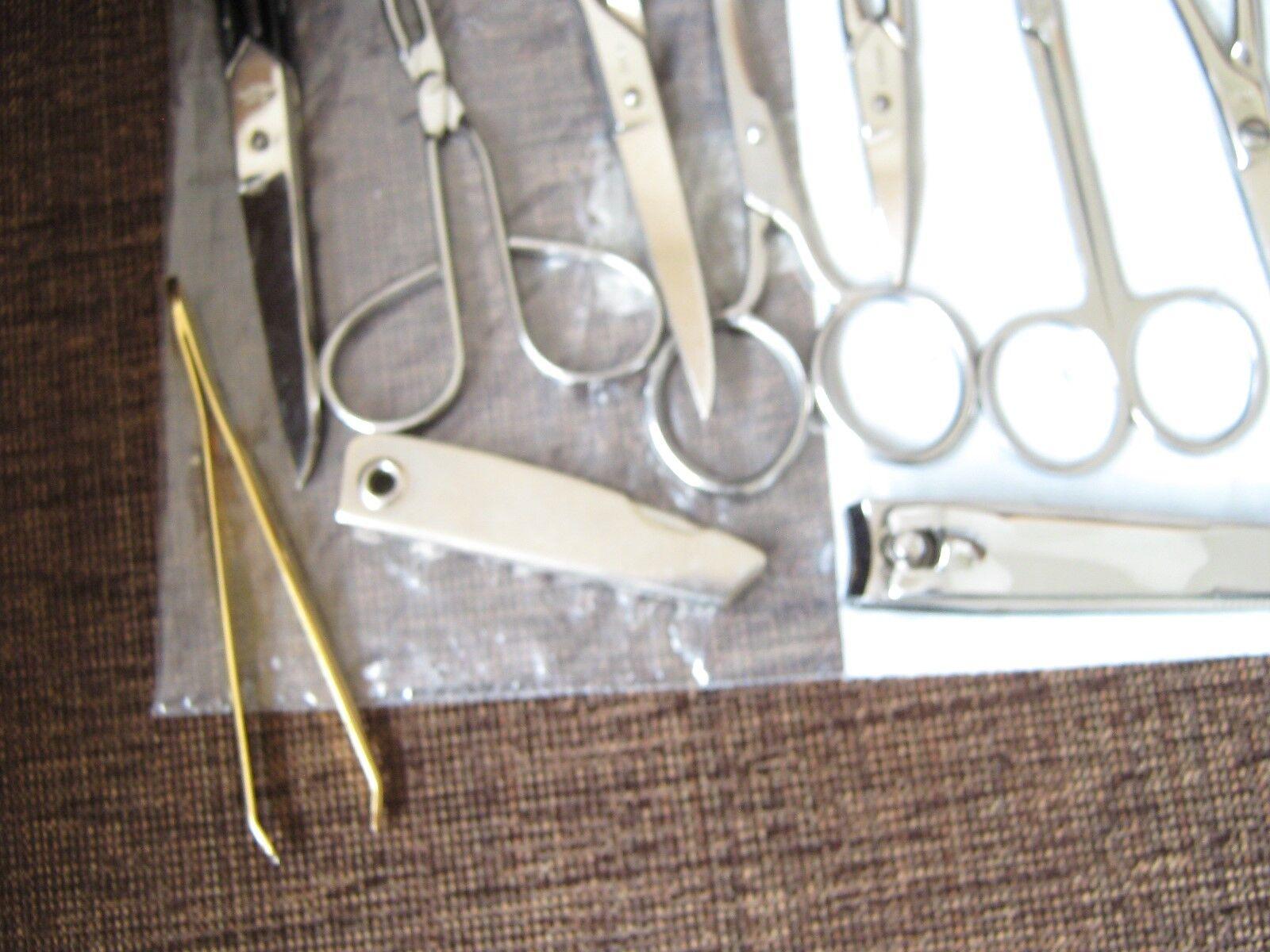 Scissors Tweezers Clippers File , Mixed Lot (14) , Phar