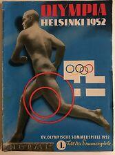 Kölnische Zeitung Olympiade Helsinki 1952, Olympiade, Olympiade 1952, Sport 1952