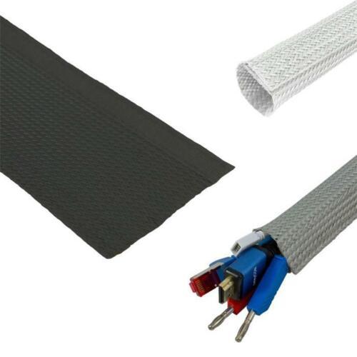 hook loop Flexible cable conduit d5-45mm cable duct fabric conduit