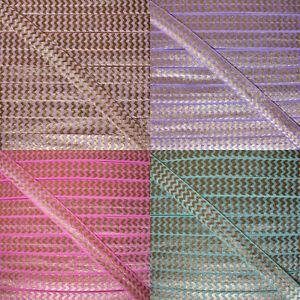 Metallic-Chevron-Fold-Over-Elastic-Gold-zigzag-Pattern-FOE-15mm-5-8-034-width