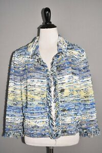 ST-JOHN-COLLECTION-NEW-1595-Chelsea-Tweed-Knit-Jacket-Cornflower-Multi-Size-8