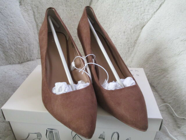 7f17b34ea A New Day Women s Gemma Wide Pointed Toe Nude Pumps Size 8w Brand New in box
