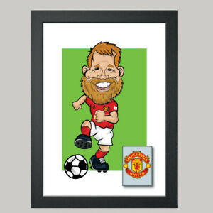 1 Person Digital Football Caricature From Photo - Personalised - Digital File