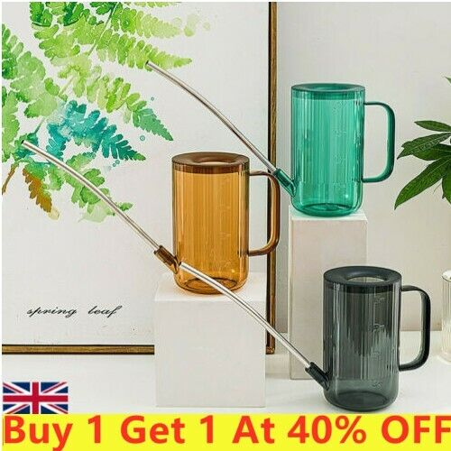 Indoor Outdoor Watering Can Garden Plant Flower Long Mouth Sprinkling Pot New