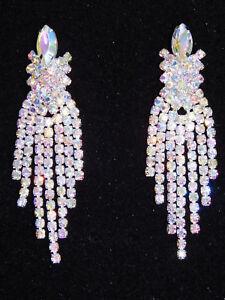 Silver Ab Iridescent Rhinestone Crystal
