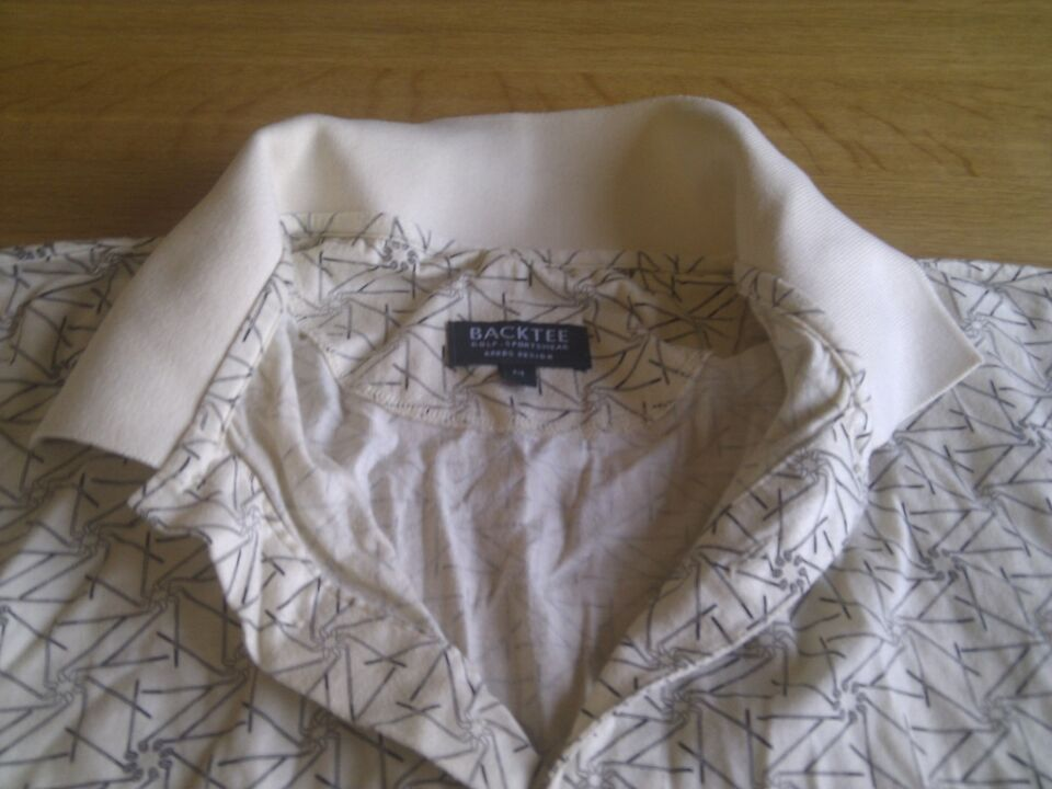 Golftøj, Polo T-shirt fra Backtee