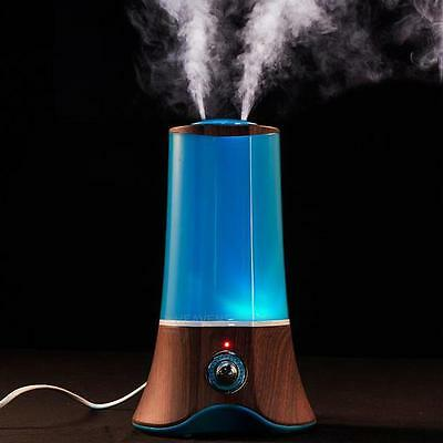 2.5L Air Aroma Essential Oil Diffuser LED Ultrasonic Aromatherapy Mist Purifier