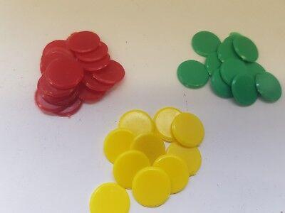 100 Gioco Da Tavolo In Plastica Contatori Alticcio Winks Far Di Conto Insegnamento-mostra Il Titolo Originale