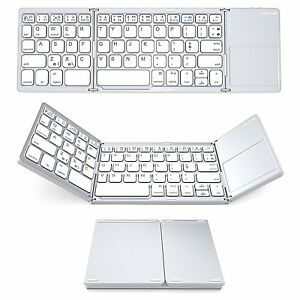 Bluetooth-Keyboard-with-Touchpad-Jelly-Comb-Foldable-Tri-fold-Triple-Wireless