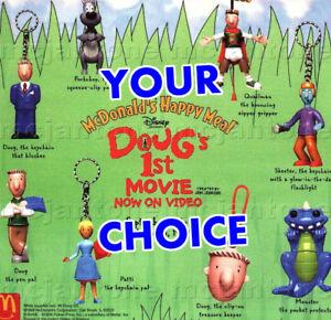 MIP-McDonald-039-s-1999-DOUG-039-S-FIRST-MOVIE-Doug-NICKELODEON-Cartoon-YOUR-TOY-CHOICE