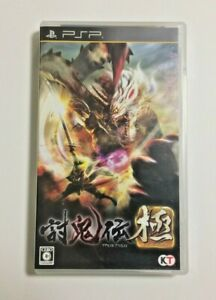 USED-PSP-TOUKIDEN-KIWAMI-JAPAN-Sony-PlayStation-Portable-import-Japanese-game