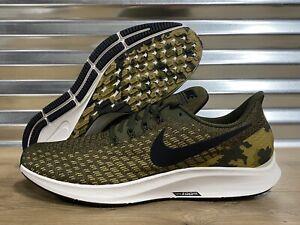 Nike-Air-Zoom-Pegasus-35-Running-Shoes-Olive-Green-Camo-Mens-SZ-AT9974-301