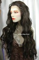 Heat Ok . Lace Front 36 Montana Wig - Sepia. Gorgeous Fs4.30 Brown/auburn