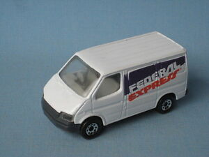 matchbox ford transit van federal express fedex toy model. Black Bedroom Furniture Sets. Home Design Ideas