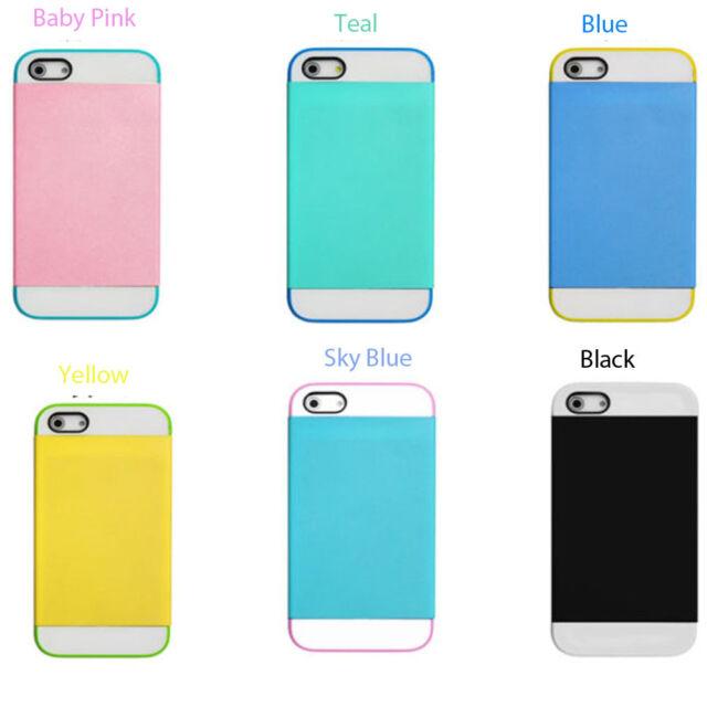 Dual layer Anti Shock Case For Apple iPhone HTC Samsung Galaxy & Mini HTC M8 M7