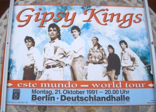 GIPSY KINGS 1991 tour poster 34 x 23  original
