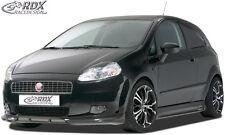 RDX Frontspoilerlippe für Fiat Grande Punto