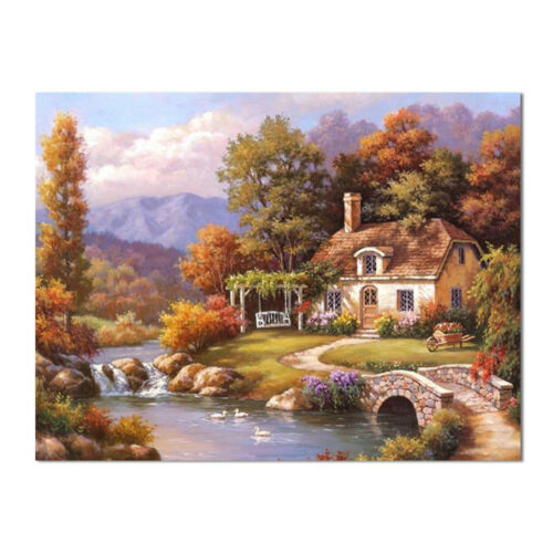 Full Drill 5D Diamond Painting Embroidery Cross Crafts Stitch Kit Home Decor gft