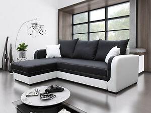 Eckcouch modern  Ecksofa BORA Couch mit Schlaffunktion! Eckcouch Sofagarnitur ...