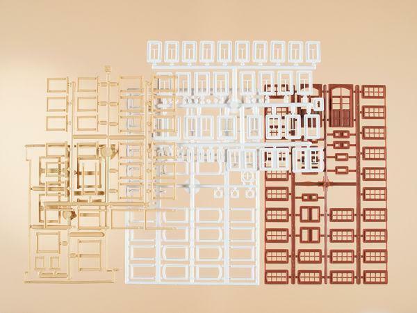 BNIB 48647 OO HO Gauge Windows / Frames / doors Auhagen