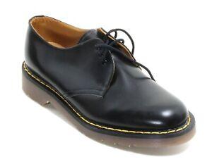 201 Chaussures à Lacets Femme Bottes en Cuir Dr.Martens Airwair Basses 37