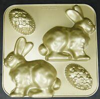 Nordic Ware Bunny Cake Pan 3d Cast Aluminum