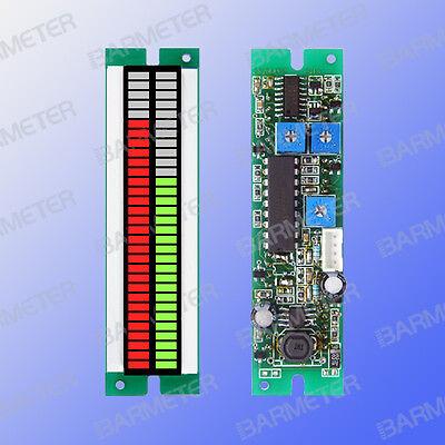 30seg LED Double Bar graph Module, DC5V power, 0-5V input, left red&right  green | eBay