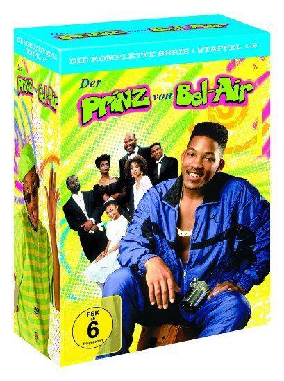 23 DVD-Box ° Der Prinz von Bel Air ° Superbox komplett ° NEU & OVP ° Staffel 1-6