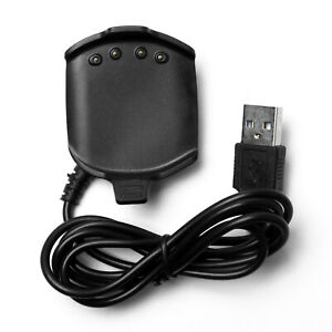 Para Garmin Approach S2/ Approach S4 Cargador Charging Cradle + USB Charge Cable